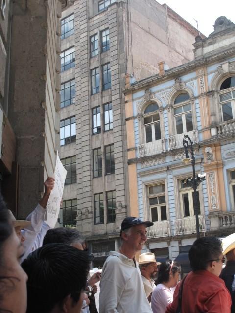 Acto espejo en apoyo a Caravana  a Monterrey